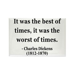 Charles Dickens 2 Rectangle Magnet (100 pack)