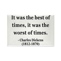 Charles Dickens 2 Rectangle Magnet (10 pack)