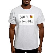 Bald is beautiful Ash Grey T-Shirt