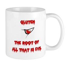 Gluten, The Root Of All Evil Mug