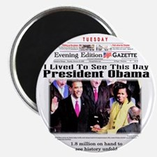 """Inauguration 2.25"""" Magnet (10 pack)"""