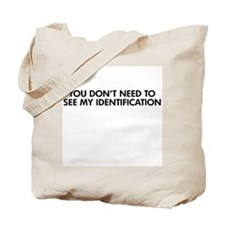 My Identification Tote Bag