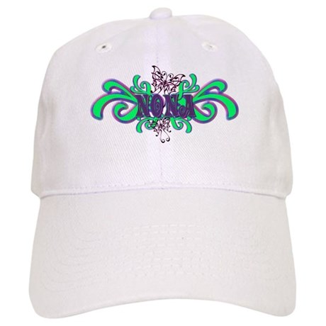Nona's Butterfly Name Cap