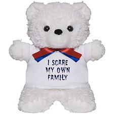 Family Scare Teddy Bear
