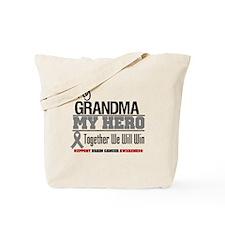 BrainCancerHero Grandma Tote Bag