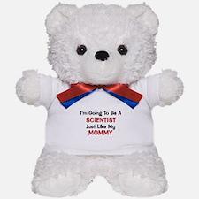 Scientist Mommy Profession Teddy Bear