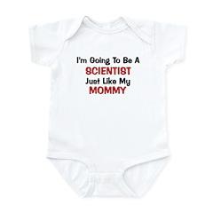 Scientist Mommy Profession Infant Bodysuit