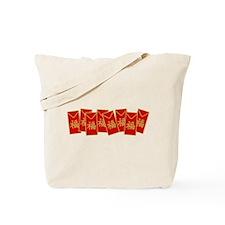 Red Envelopes Tote Bag
