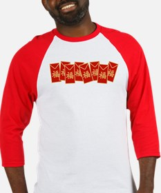 Red Envelopes Baseball Jersey
