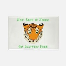 Gluten Free Tiger Rectangle Magnet