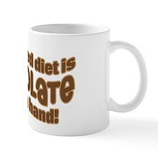 BALANCED CHOCOLATE DIET Mug