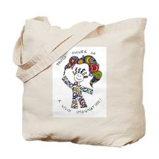 Cute Vivid imagination Tote Bag