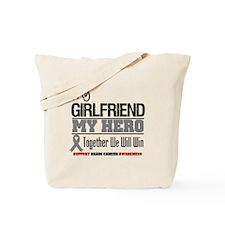 BrainCancerHero Girlfriend Tote Bag