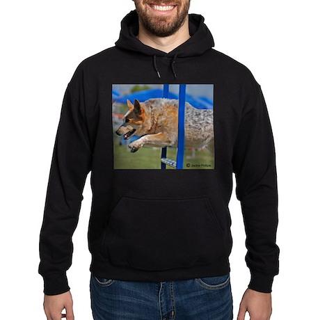Australian Cattle Dog Hoodie (dark)