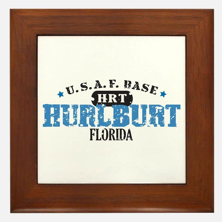 Hurlburt Air Force Base Framed Tile
