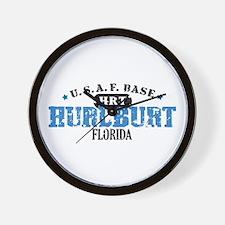 Hurlburt Air Force Base Wall Clock