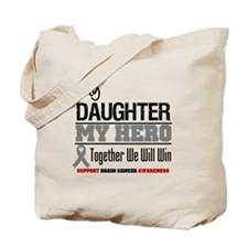 BrainCancerHero Daughter Tote Bag