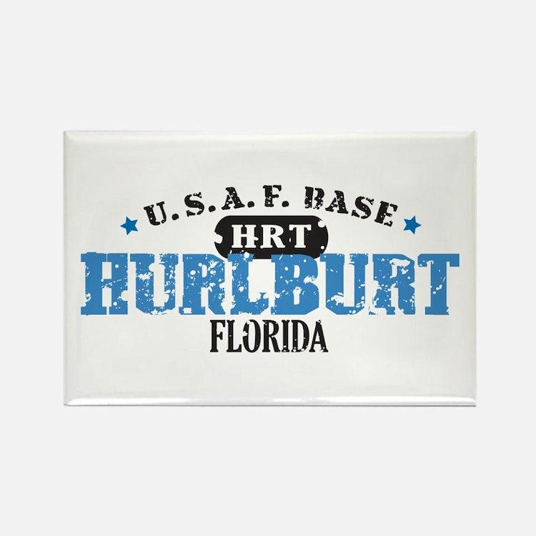 Hurlburt Air Force Base Rectangle Magnet
