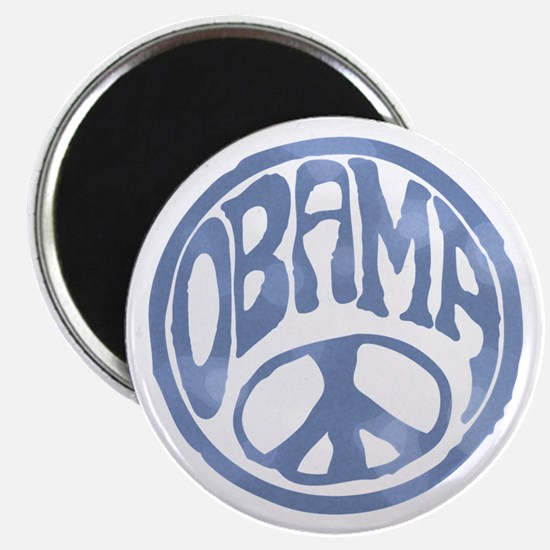 Obama - 60's Stamp Magnet