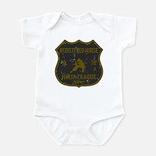 Registered Nurse Ninja League Infant Bodysuit