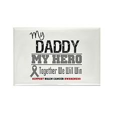 BrainCancerHero Daddy Rectangle Magnet (10 pack)