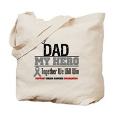 BrainCancerHero Dad Tote Bag