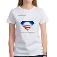 Funny Obama superhero Tee