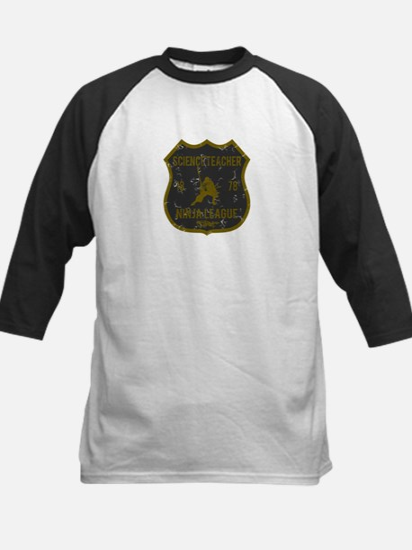 Science Teacher Ninja League Kids Baseball Jersey
