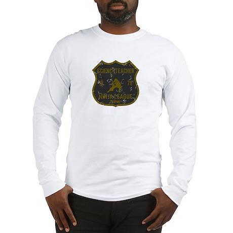 Science Teacher Ninja League Long Sleeve T-Shirt