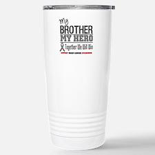 BrainCancerHero Brother Travel Mug