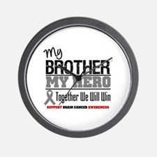 BrainCancerHero Brother Wall Clock