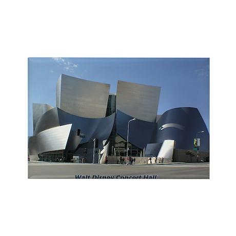 Disney Concert Hall Rectangle Magnet (10 pack)