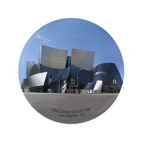 "Disney Concert Hall 3.5"" Button"