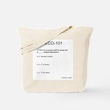 Funny Recession Tote Bag