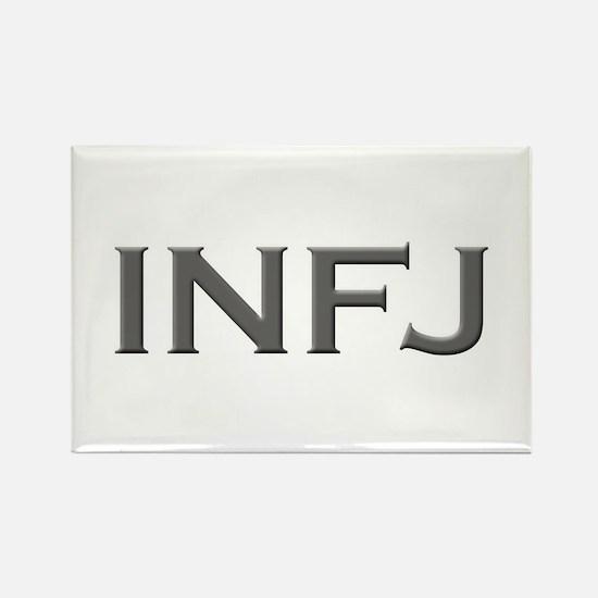 INFJ Rectangle Magnet