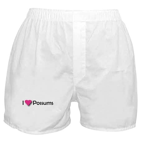 I LUV POSSUMS Boxer Shorts
