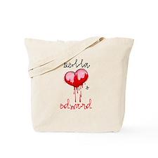 Bella Loves Edward Tote Bag