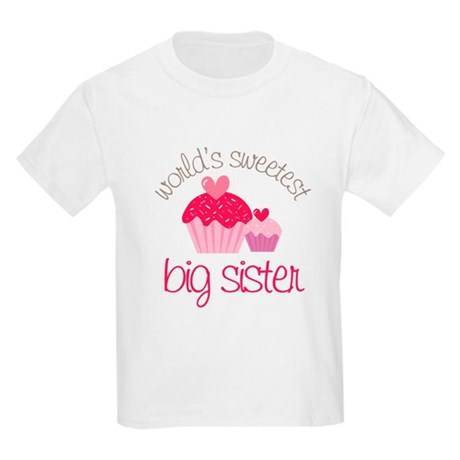 world's sweetest big sister Kids Light T-Shirt