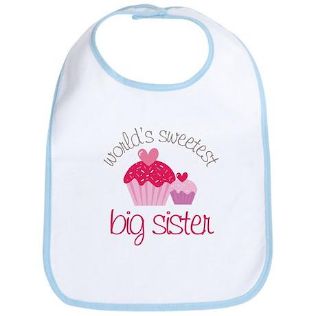 world's sweetest big sister Bib
