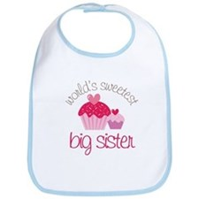 world's sweetest big sister Bib