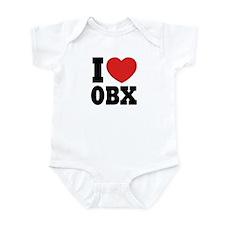 I Love OBX Infant Bodysuit