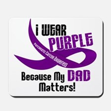 I Wear Purple For My Dad 33 PC Mousepad