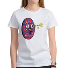 Dartie the dart board Tee
