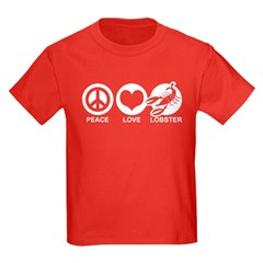 Peace Love Lobster T