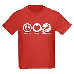 Peace Love Lobster T