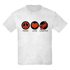 Peace Love Lobster T-Shirt