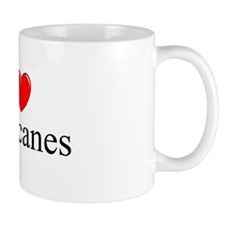 """I Love (Heart) Hurricanes"" Mug"