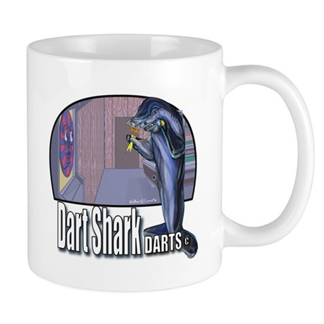 Dart Shark Darts Mug