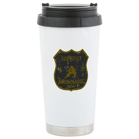 Scientist Ninja League Stainless Steel Travel Mug