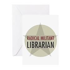 Radical Librarian Greeting Cards (Pk of 20)